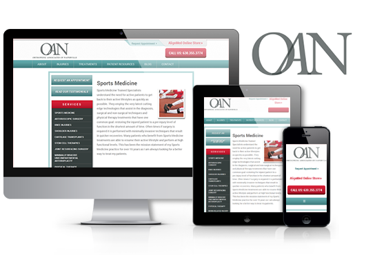 Responsive Mobile Website | OAN