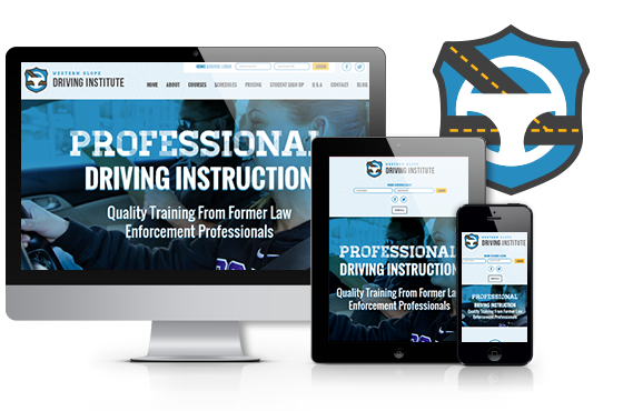 COS Website Design | Western Slope Driving Institute