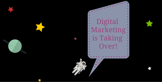 digital marketing is outta this world!