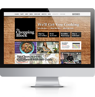 COS Website Design | Chopping Block