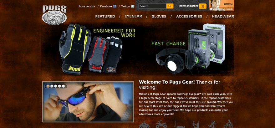 Old Pugs Website