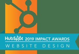 Hubspot Impact Awards 2019 Website Design