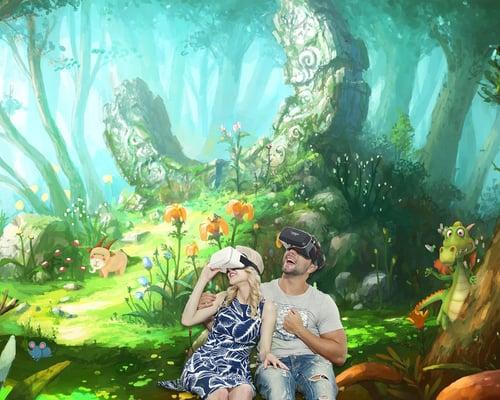 virtual reality digital world