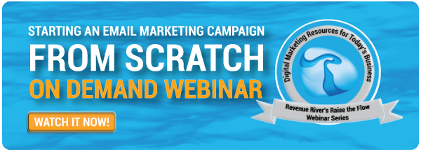 Marketing Webinar, Denver Marketing, Revenue River