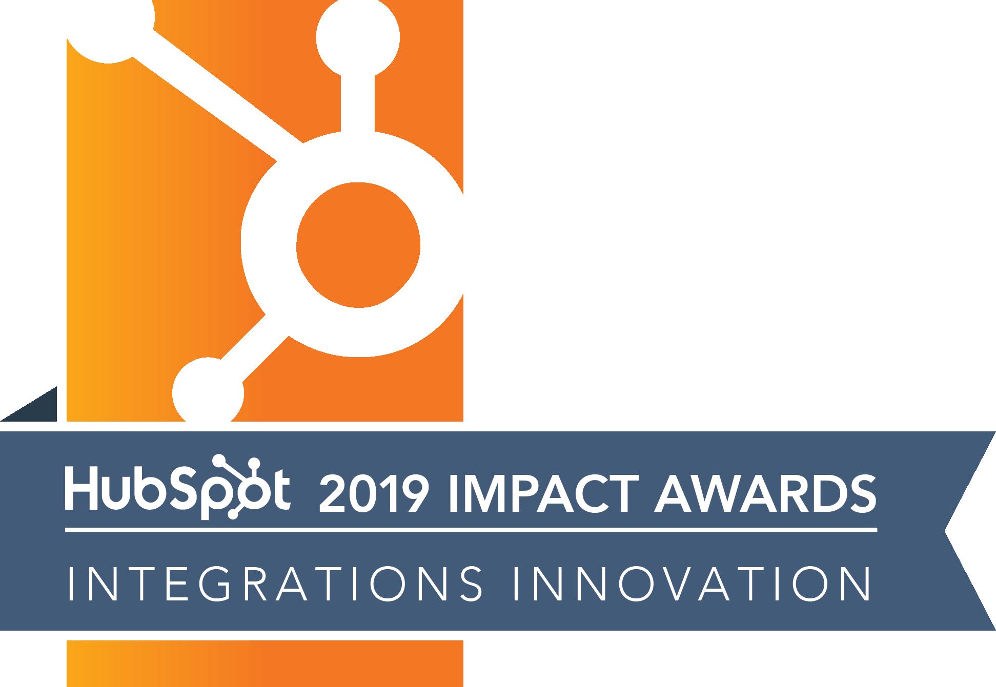 2019 Integrations Innovation Award Winner