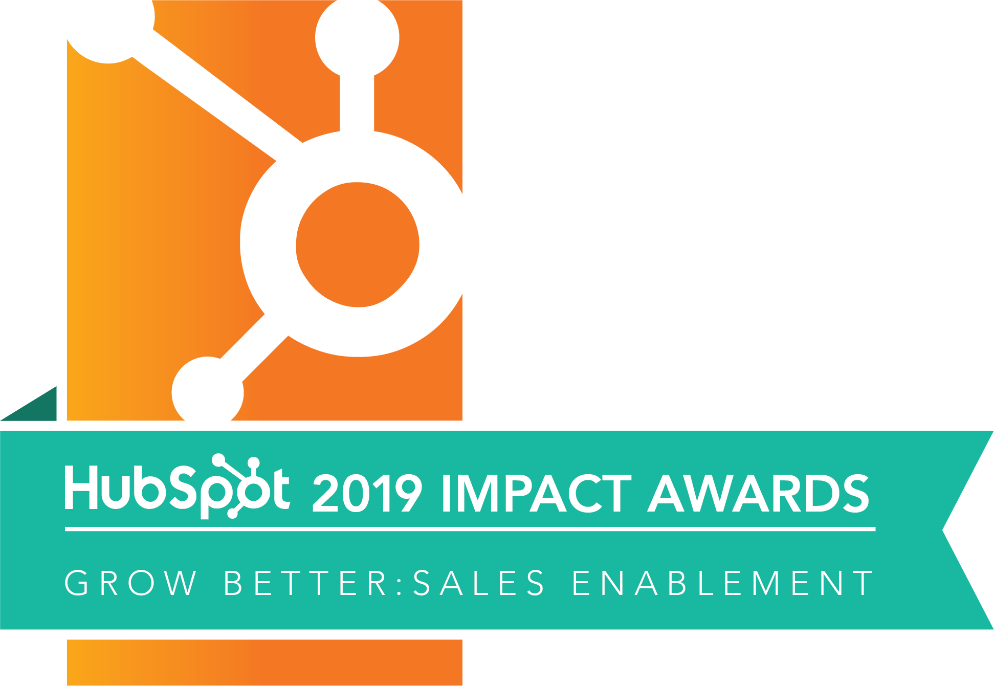2019 Sales Enablement Impact Award Winner