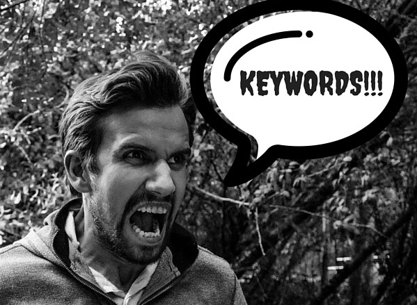 Use keywords to optimize your site