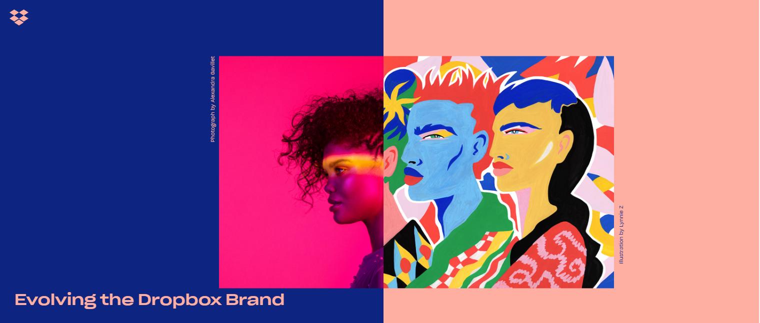 Bold colors are making a comeback in web design