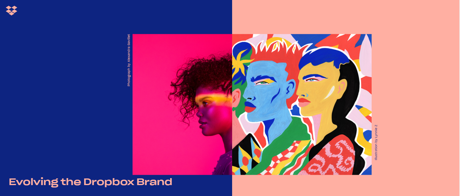 Bold colors are making a comeback in web design