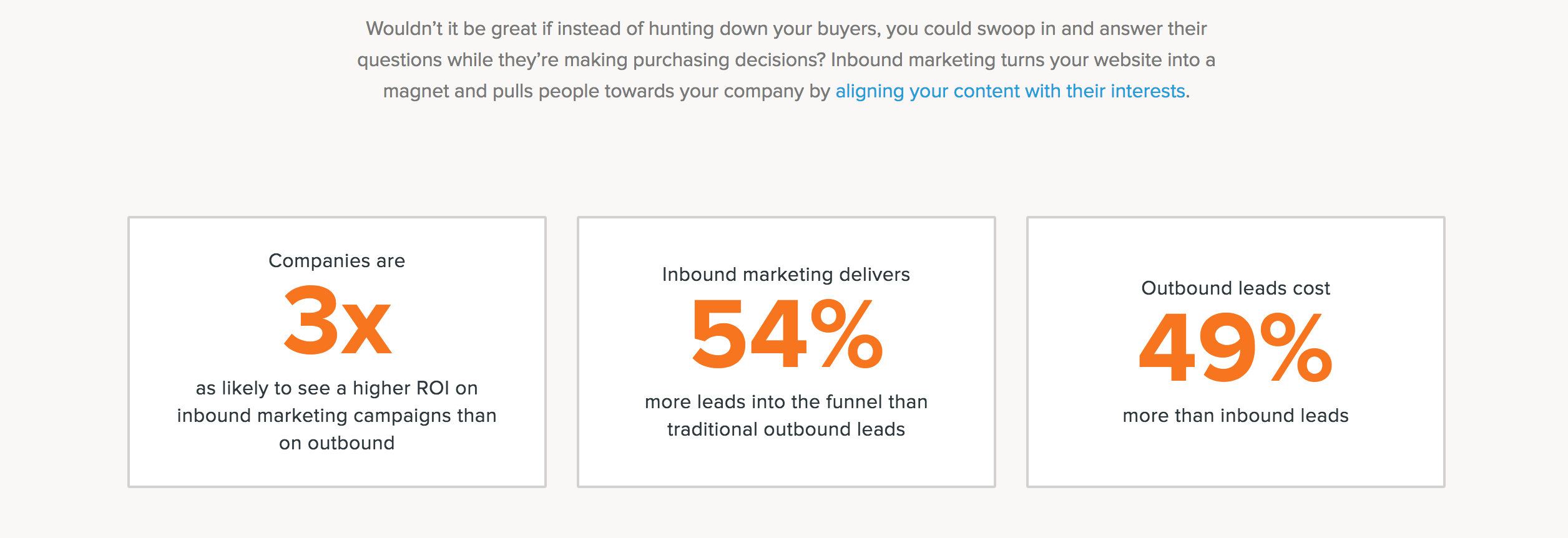 Inbound marketing returns