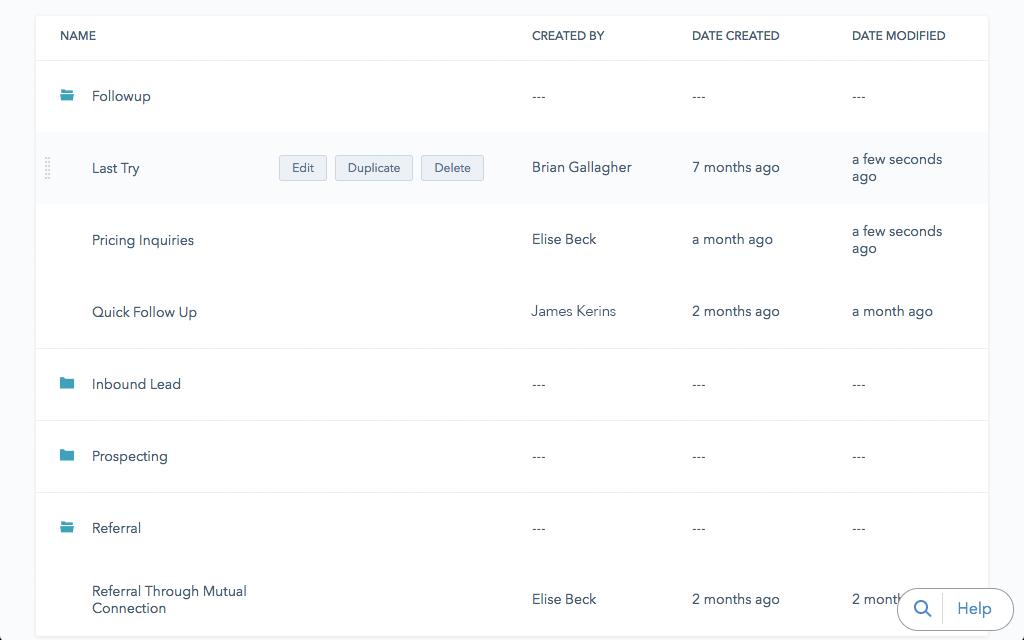 HubSpot email templates