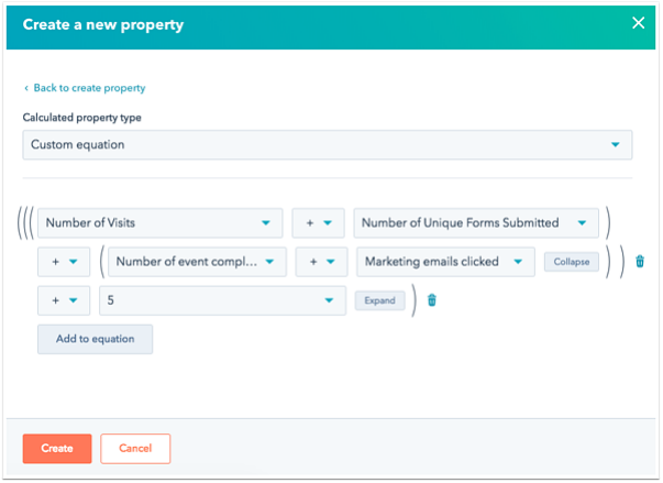 HubSpot Sales Enterprise calculated properties access