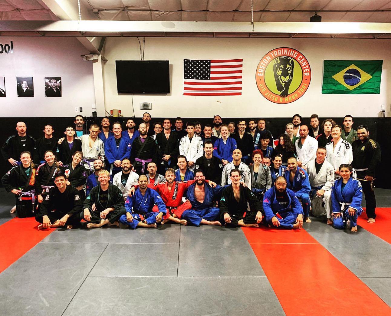 Iggy Falco at Easton Training Center for Brazilian Jiu Jitsu
