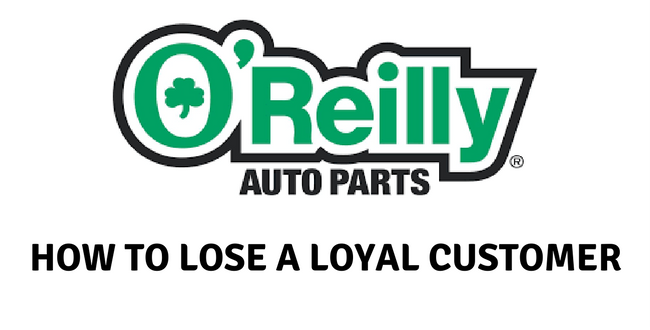 Orally Auto Part Near Me >> Retailers That Don T Get It O Reilly Auto Parts