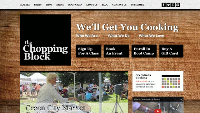 The Chopping Block Homepage
